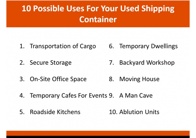 Types Of Containers And Sizes