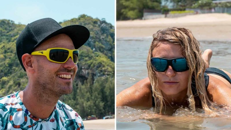 Discover the many benefits of using floating sunglasses