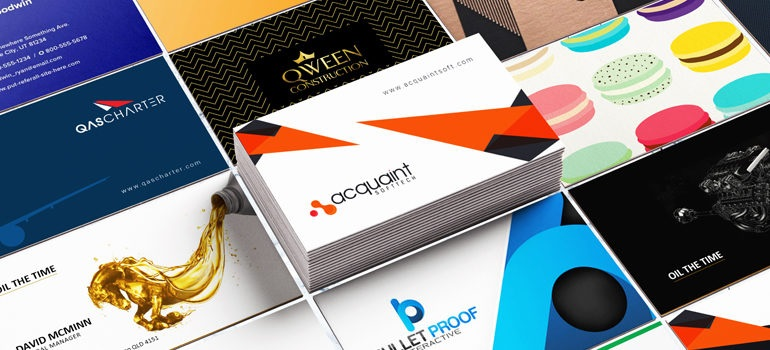 Do not underestimate the power of a business card