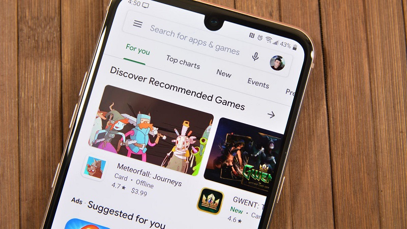 How to stop game download from Android play store?