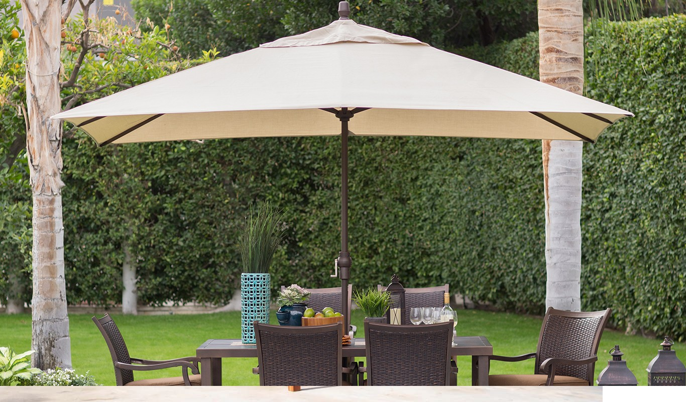 How To Determine The Right Umbrella Size For Your Garden