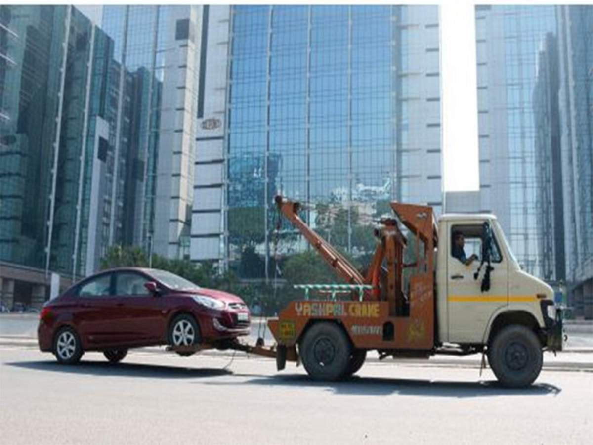 Towing the car – regulations, speed. How to tow a car?