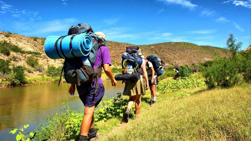 How is hiking summer camp the foundation for adventurous travel?