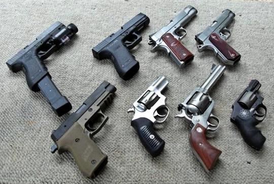 Types of Gun Sizes