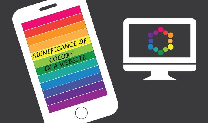 The significance of color in web design